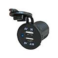 accessoires CMC ACCESSOIRES PRISE USB FIXE 3.1 A