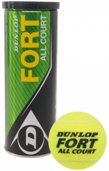 SARL RUN SPORTS 46  BALLES X4 DUNLOP FORT modele